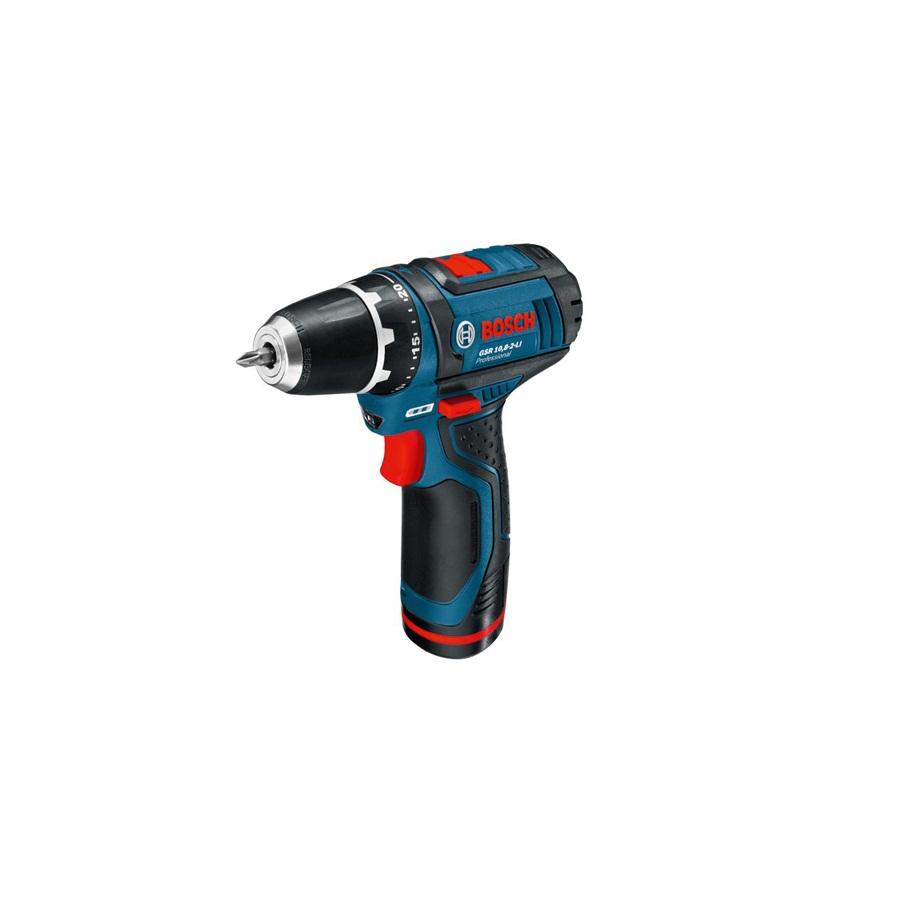 Máy khoan vặn bắt vít dùng pin Bosch GSR 10.8-LI Professional