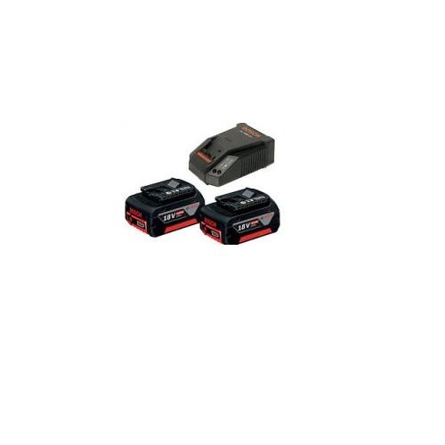 Bộ pin + sạc Bosch 18V (4.0Ahx2 + AL 1860)