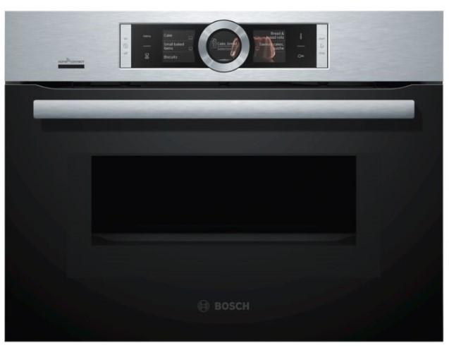 Lò nướng kết hợp vi sóng Bosch CMG656BS6B