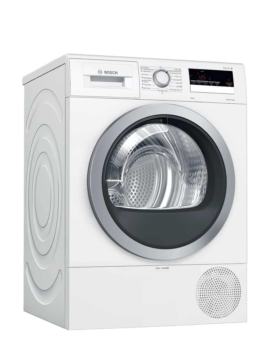 Máy sấy quần áo tụ hơi và bơm nhiệt 9KG Bosch HMH.WTW85400SG Serie 6