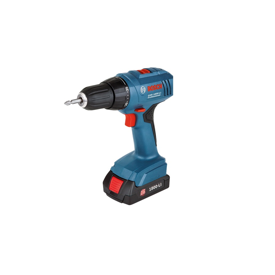 Máy khoan vặn bắt vít dùng pin Bosch GSR 1800-LI Professional