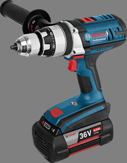 Máy khoan / Máy khoan không dây Bosch GSB 36 VE-2-LI (2 X 2.0 Ah)