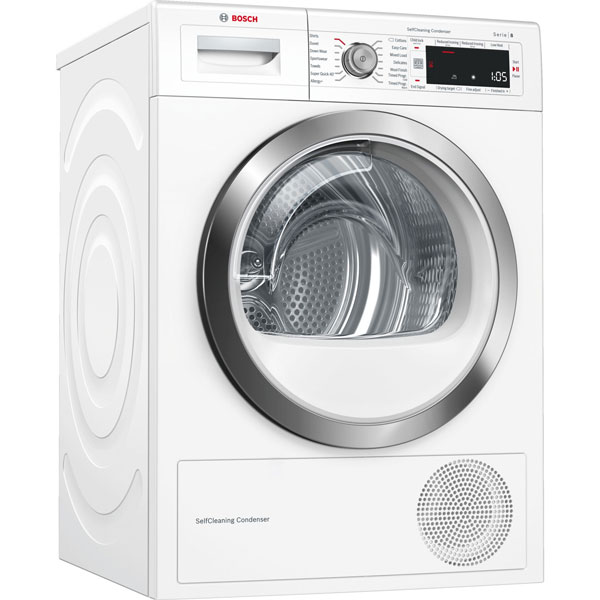 Máy sấy quần áo Bosch WTW87561SG Seri 8